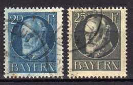 Bayern Mi 97-98 A, Gestempelt [180516VII] - Bavaria