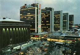 Julstämning över Hötorgs- City. Christmas Atmosphere Downtown. - Stockholm