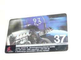 Alte Rennwagen Old Race Car Racing 2000 Phonecard Hungary - Cars