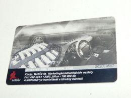 Mercedes W124 ? Car Auto 2000 Phonecard Hungary - Cars