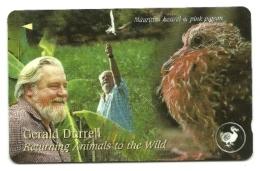 Jersey - Tessera Telefonica Da 2 Pounds T54 - G. Durrell - Uccelli