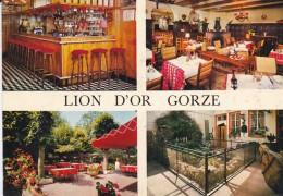 """57---GORZE---"""" Hostellerie Du Lion D'or """"---multivues---voir 2 Scans - Otros Municipios"""
