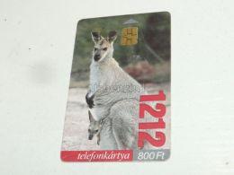 Kanguru Kangaroo 1999 Phonecard Hungary - Tarjetas Telefónicas