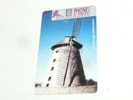 Windmill Mill Windmuhle Muhle Karcag 1994 Phonecard Hungary - Phonecards