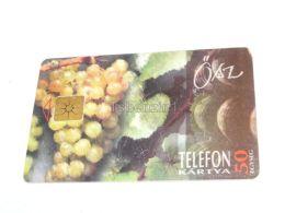Herbst Autumn Traube Grape 1995 Phonecard Hungary - Seasons