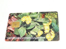 Flower Blume Primel Primrose 1995 Phonecard Hungary - Flores