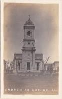 Argentina Church In Rufino Real Photo