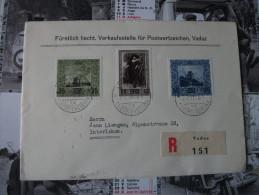 Liechtenstein:Serie Peinture 1954 - Liechtenstein
