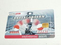 Eisenbahn Railway AC Schiene AC Rail 2001 Phonecard Hungary - Phonecards