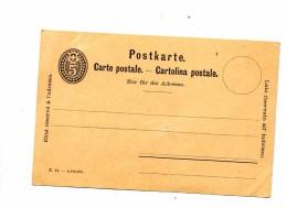 Carte Postale  5 C - Stamped Stationery