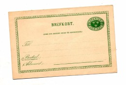 Carte Postale  5 O Couronne - Postal Stationery