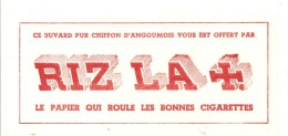 Buvard RIZ LA CROIX Le Papier Qui Roule De Bonnes Cigarettes - Tabac & Cigarettes