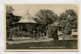 Bandstand & Shelter, Bedwellty Park, Tredegar. - Wales