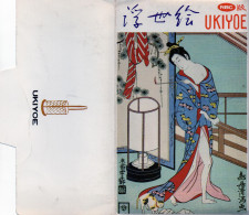 """Pochette De 8 Cartes Postales Sur Le Thème """"femmes Au Bain"""" érotisme Discret (gd Rouge) - Tokio"""
