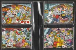 """Puzzle Kinder """" Les Souris"""" En 4 Parties De 2001 Livrés Complets Avec Bandelettes Et Sous Cache En Plastique. - Puzzles"""
