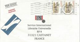 AFRIQUE DU SUD LETTRE AVION DE JOHANNESBURG POUR LA FRANCE 1995 - Afrique Du Sud (1961-...)