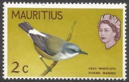 Mauritius. 1968 Birds. New Background Colours. 2c MH. SG 370 - Mauritius (1968-...)