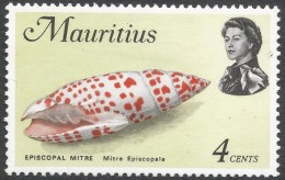 Mauritius. 1969 Sealife. 4c MH. SG 384 - Mauritius (1968-...)