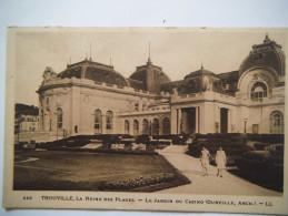 La Reine Des Plages , Le Jardin Du Casino - Trouville