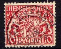 Bayern Dienstmarken Mi 26, Gestempelt [180516VII] - Bayern (Baviera)