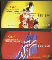 Iceland 1998 Cept Stamp Booklets Complete MNH - 1944-... Republik