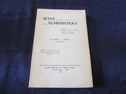 COLLECTIF - Revue Numismatique - SERIE VI - TOME 1  [in-4 Broché 1958] - Livres & Logiciels
