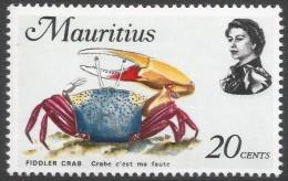 Mauritius. 1969 Sealife. 20c MH. SG 480 - Mauritius (1968-...)