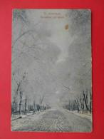 Russian ASIA 1910x ASHABAD, Street In Winter. Russian Postcard - Turkmenistan