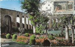LBL38/4 - ALGERIE MEDEA SURCHARGE EA SUR CPA 14/8/1962 - Algeria (1962-...)