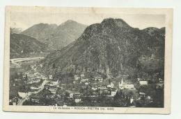 ROCCAPIETRA VALSESIA 1933 VIAGGIATA FP - Vercelli
