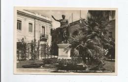 BRINDISI STATUA DELL'IMPERATORE CESARE AUGUSTO 1941 - Brindisi