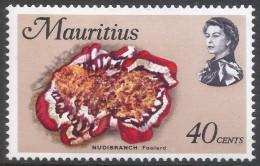 Mauritius. 1969 Sealife. 40c MH. SG 484 - Mauritius (1968-...)