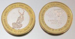 Guinée-Bissau 6000 CFA 2004 VIP Monnaie Bimétallique Précieuse Animal - Guinea Bissau