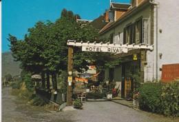 38----LA MOTTE D'AVEILLANS---hotel-restaurant RIVAIL---voir 2 Scans - France