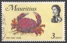Mauritius. 1969 Sealife. 3c Used. SG 383 - Mauritius (1968-...)