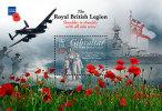 GIBRALTAR 2011 - Avions Et Navires De Combat, 1er Guerre Mondiale - BF Neuf // Mnh - Gibraltar