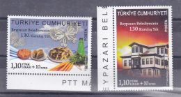 AC - TURKEY STAMPS - 130th ESTABLISHMENT YEAR OF BEYPAZARI MUNICIPALITY MNH 29 MAY 2013 - 1921-... República