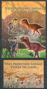 163 MICRONESIE 2004 - Faune Prehistorique Dinosaure (Yvert 1356/59 - BF 144) Neuf ** (MNH) Sans Trace De Charniere - Micronésie