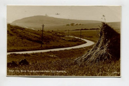 THE ROAD TO BIRLING GAP FROM EASTBOURNE - England