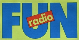 Autocollant Fun Radio - Adesivi