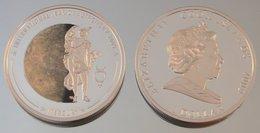Îles Cook 1 Dollar 2009 Mercury Argent Couleurs Espace - Cook
