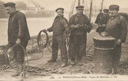 Boulogne-sur-Mer - Types De Mariniers - Boulogne Sur Mer