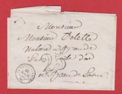 Plis De Maison Blanche   --  Pour St Jean De Losne  -   26 Mars 1853 - 1877-1920: Periodo Semi Moderno