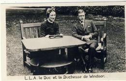 CARTE  PHOTO : L.L.A.  DUC  Et  La  DUCHESSE  De  WINDSOR. - United Kingdom