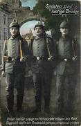 SOLDATEN SIND LUSTIGE BRÜDER - Carte De Propagande Allemande - War 1914-18