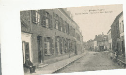 Fruges - Rue Du Paradis - Institution Saint-Bertulphe - 1916 - Fruges
