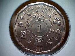 Uganda 1 Shilling 1987 - Uganda