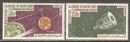 Mauritania 1963 Mi# 217-218 ** MNH - Telstar And Relay Satellites / Space - Space
