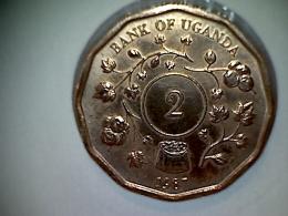 Uganda 2 Shillings 1987 - Ouganda