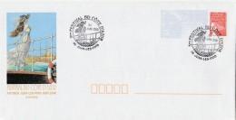 VICOMTE. Enveloppe PAP. 3e Festival BD Côte D'Azur. Antibes. Juan-les-Pins (06). 2000. Avec 2 Tampons 1er Jour - Objets Publicitaires